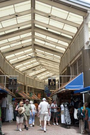 Market in Miami Florida USA
