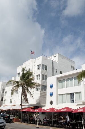 Art Deco Hotel on South Beach Miami Florida USA