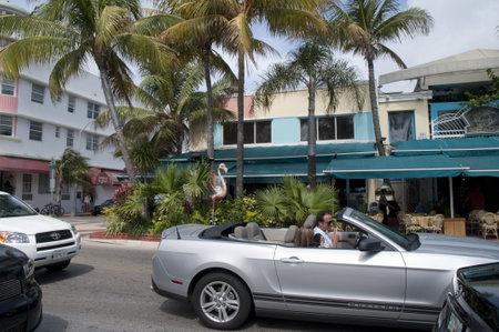 Art Deco Hotel on South Beach Miami Florida USA Stock Photo - 14543596
