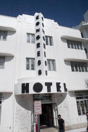 Art Deco Hotel on South Beach Miami Florida USA photo