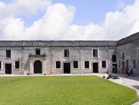 Castello San Marco Fortress in St Augustine Florida USA photo