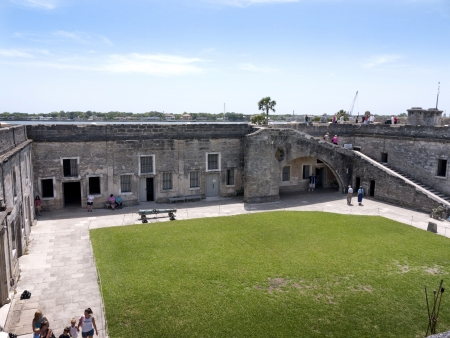 Castello San Marco Fortress in St Augustine Florida USA