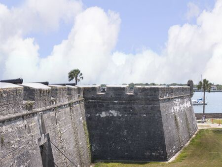 Castello San Marco Fortress in St Augustine Florida USA photo
