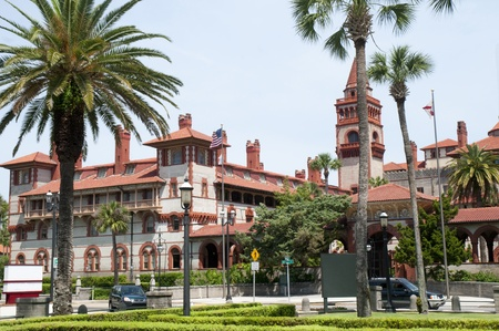 Flagler College in St. Augustine is a city in the northeast section of Florida, United States. Stock Photo