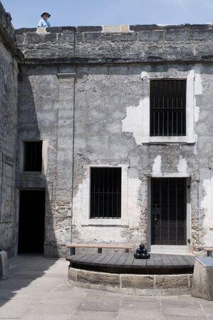 cape canaveral: Castello San Marco Fortress in St Augustine Florida USA