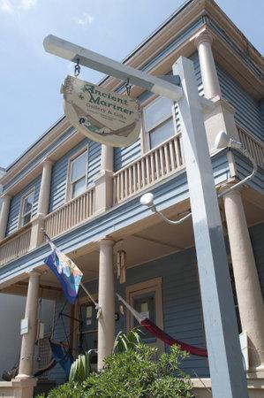 Main Street of St Augustine Florida USA
