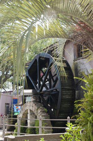 Waterwheel in St Augustine Florida USA photo