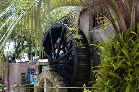 Waterwheel in St Augustine Florida USA Stock Photo - 11563892