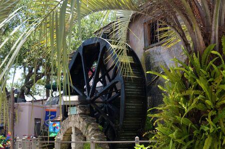 Waterwheel in St Augustine Florida USA Stock Photo - 11563892
