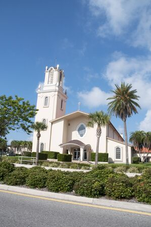 Church in Madeira Beach near St Petersberg Florida USA photo