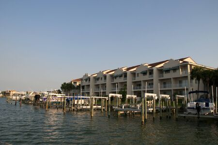 Sunset sailing on yacht from St Pete Beach near St Petersburg Florida USA photo