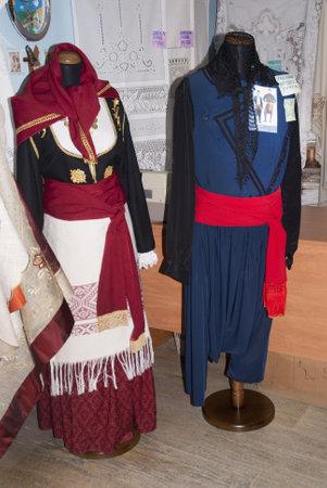 national costume: Cretan National Costume in Rethymno Crete