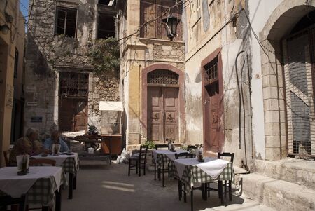 backstreet: Backstreet restaurant in Rethymno Crete