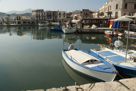 rethymno: The Venetian Harbour at Rethymno Crete Greece