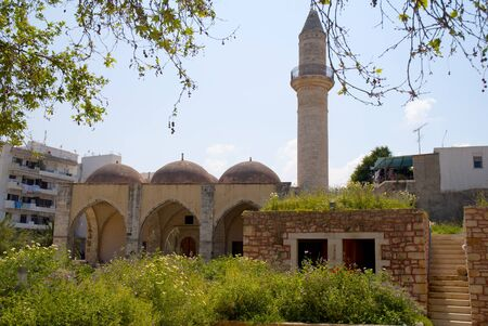 rethymno: Ancient Mosque at Rethymno on the island of Crete Greece
