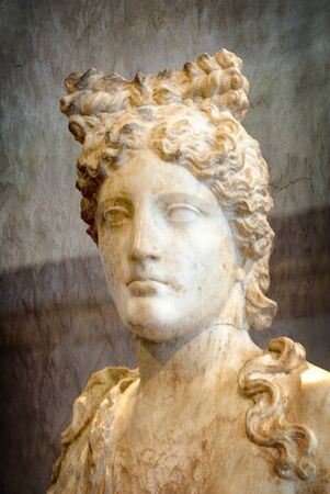 Marble Statue of Aphrodite at Rethymno Crete