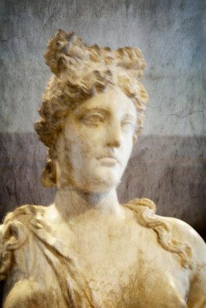 Marble Statue of Aphrodite at Rethymno Crete Stock Photo - 14543773