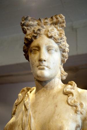 Marble Statue of Aphrodite at Rethymno Crete Stock Photo - 14543759