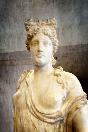 Marble Statue of Aphrodite at Rethymno Crete Stock Photo - 14543763