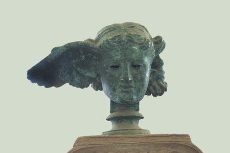 Roman head of the God Hermes