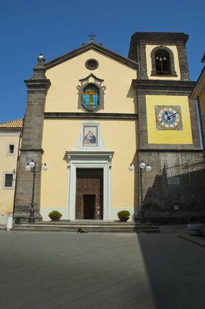 sant agata: Church at Sant Agata near Sorrento Campania Italy Stock Photo
