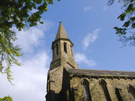 St James Parish Church in Brierclife Burnley Lancashire Stock Photo - 14543954