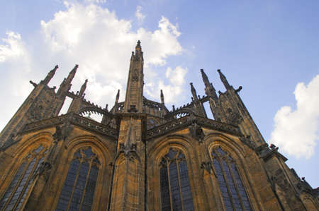St Vitus Cathedral in Prague, Czech Republic Europe photo