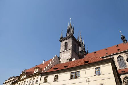 Church of Our Lady Before Tyn in Prague, Czech Republic Europe Stock Photo - 12024300
