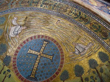 ravenna: world famous 10th century Mosaics in Ravenna Italy