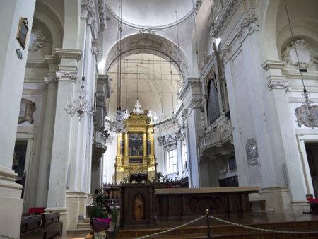 high altar: High Altar of church of San Domenica Bologna