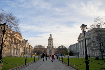 Trinity College the University in Dublin City Ireland