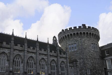 Garrison Church of Dublin Castle. City of Dublin Ireland