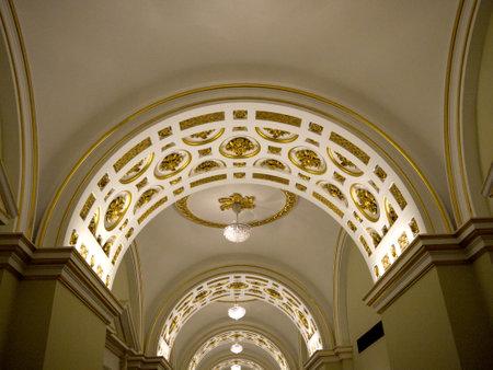 kilmainham: Staterooms in Dublin Castle in the City of Dublin Ireland