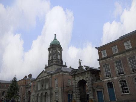 kilmainham: Clocktower in Dublin Castle, Dublin City Ireland