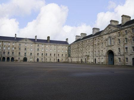 kilmainham: Collins Barracks now a museum in the City of Dublin Irleand