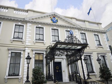 sala recepcyjna: Oficjalna Strona Prezydenta Mansion Dublin, Dublin City Dom w Irlandii