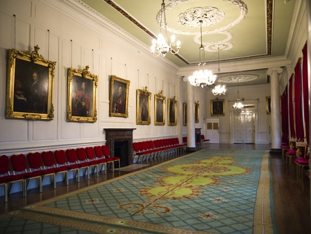 stateroom: Staterooms in Dublin Castle in the City of Dublin Ireland