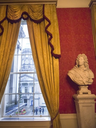 sala recepcyjna: Sale reprezentacyjne w Dublin Castle w Dublinie Irlandii