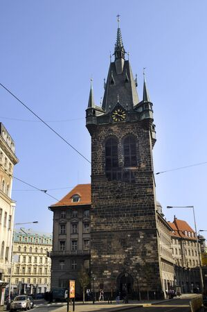 Henrys Tower in Prague, Czech Republic Europe