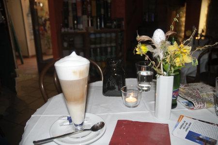 Cafe Latte in Prague