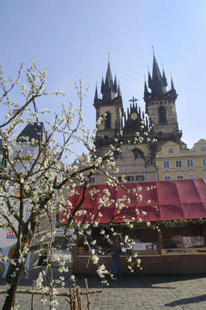 Church of Our Lady Before Tyn in Prague, Czech Republic Europe photo
