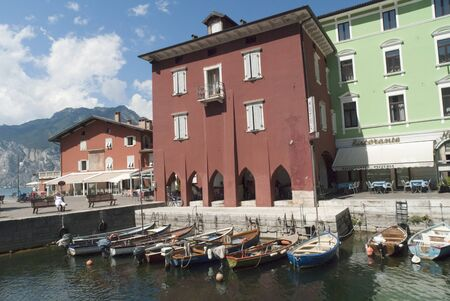 Torbole a Lovely Town on Lake Garda in Northern Italy Stock Photo - 12240432