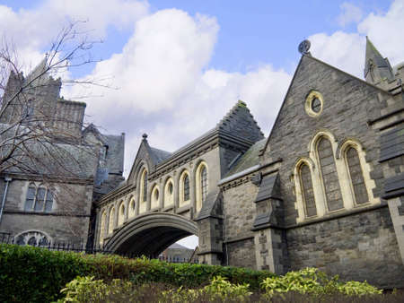 Christ Church Anglican Cathedral in Dublin City Ireland photo