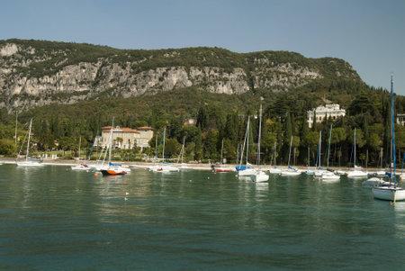 garda: Garda Town on Lake Garda Italy