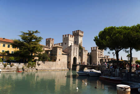 sirmione: Sirmione is one of the lovely small towns on this lake in Northern Italy with a Snation situated near the Dolomites and Italian Alps.