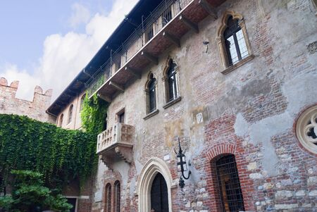 romeo and juliet: Juliet s Balcony in Verona  a city in Northern Italy which features in Shakespeare Editorial
