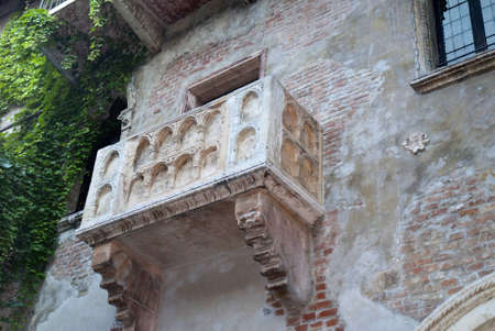 juliet s: Juliets balcony in Verona  a city in Northern Italy which features in Shakespeare s tragedy Romeo and Juliet