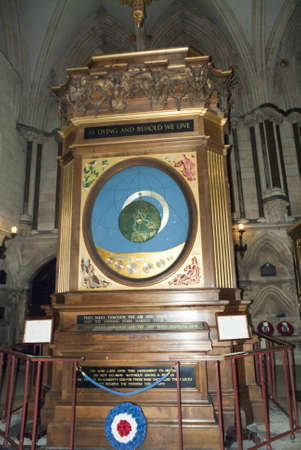 raf: Memorial to the RAF in Cathedral in Yorkshire England