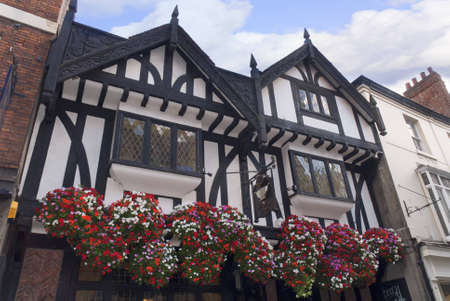 shambles: The Medieval Shambles a shopping area in the city of York England