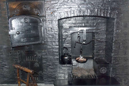 oven and range: Ancient Kitchen Range and Oven